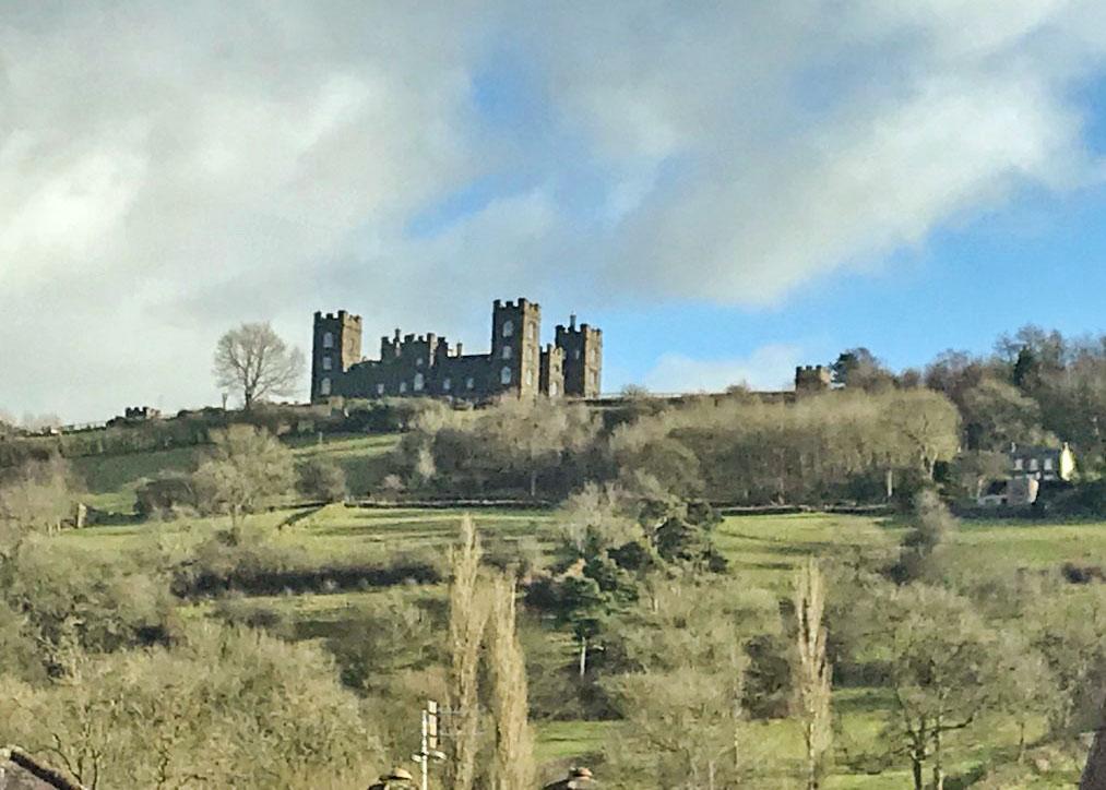 Riber Castle over the Derwent Valley