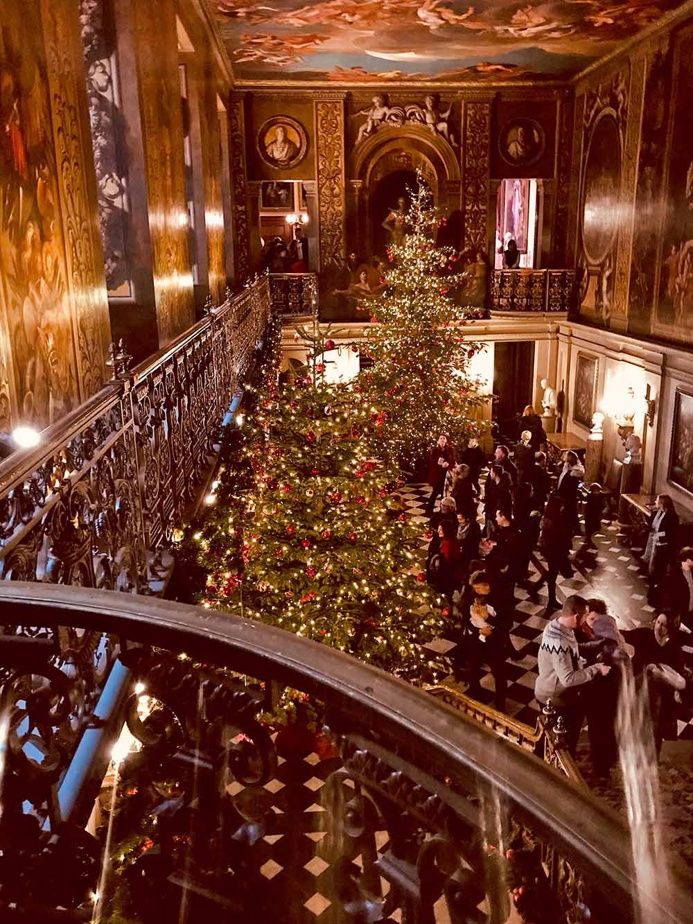 chatsworth estate christmas decorations